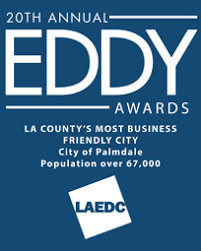 20th Annual Eddy Award Winner - City of Palmdale