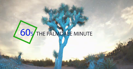 The Palmdale Minute Logo