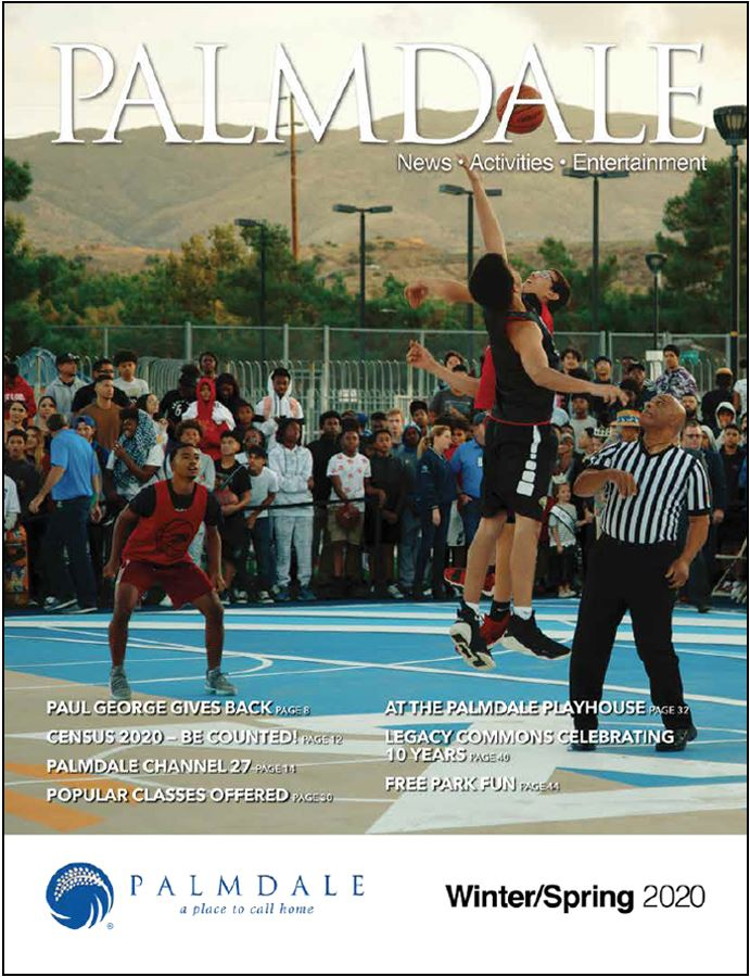 Palmdale Magazine cover winter spring 2020