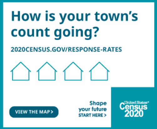 Census hows your town count going