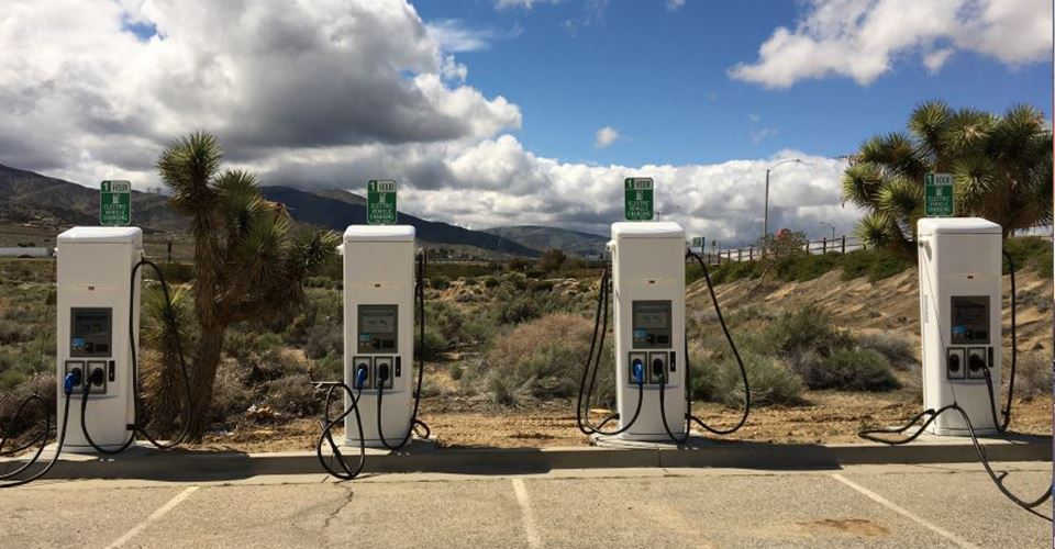 Electronic Vehicle Charging Stations