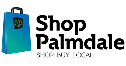 Shop Palmdale News Flash Logo