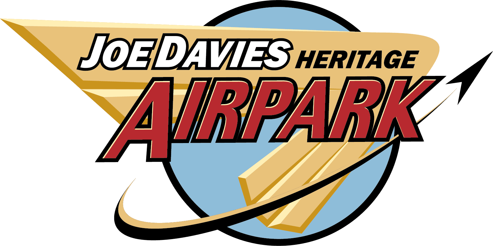 Joe Davies Heritage Airpark at Palmdale Plant 42 logo