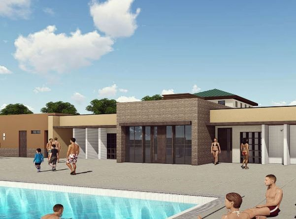 Courson Pool Rendering